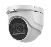 2Мп уличная купольная HD-TVI камера с EXIR-подсветкой до 30м и встроенным микрофоном (AoC)