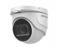 8Мп уличная купольная HD-TVI камера с EXIR-подсветкой до 80м