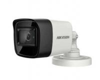 5Мп уличная компактная цилиндрическая HD-TVI камера с EXIR-подсветкой до 30м