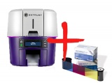 2 ленты в подарок за предзаказ принтера Entrust Sigma DS2