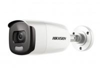 2Мп уличная цилиндрическая HD-TVI камера с LED подсветкой до 40м
