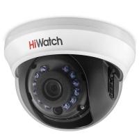 5Мп внутренняя купольная HD-TVI камера с ИК-подсветкой до 20м