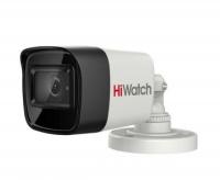 5Мп уличная цилиндрическая HD-TVI камера с EXIR-подсветкой до 30м и встроенным микрофоном (AoC)