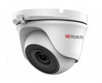 2Мп уличная купольная HD-TVI камера с EXIR-подсветкой до 30м