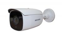 8Мп уличная компактная цилиндрическая HD-TVI камера с EXIR-подсветкой до 60м