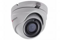 2Мп уличная купольная HD-TVI камера с EXIR-подсветкой до 20м и технологией PoC
