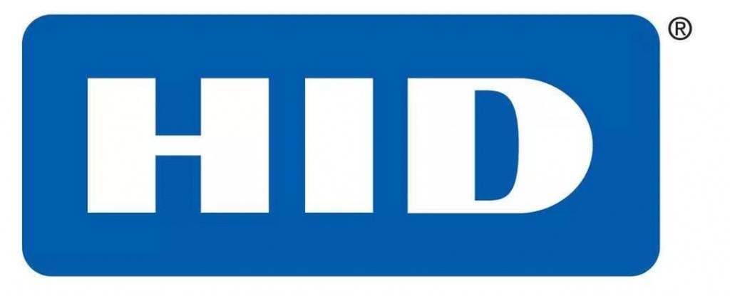 логотип HID на белом фоне