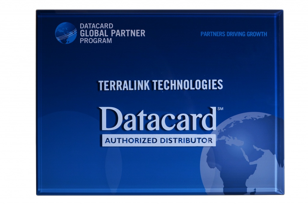 Сертификат Datacard - Authorized Distributor