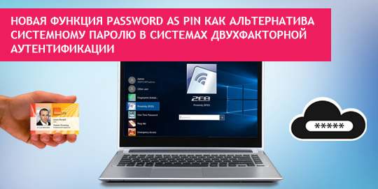 Password as PIN