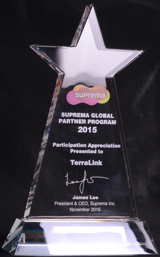 Suprema global partner 2015